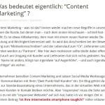 Content Marketing / Definition Bedeutung