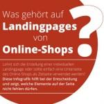 Wichtige Elemente einer Landingpage von Webseiten und Onlineshops