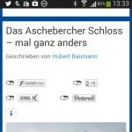 Webseiten context sensitive - smartphonetauglich