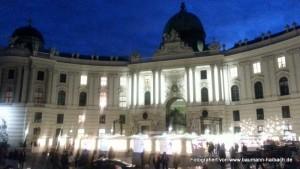 Hofburg Wien / Michaelerplatz - Weihnachtsmarkt