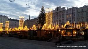 Weihnachtsmarkt in Linz - Oberösterreich