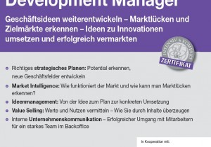 Seminar / Workshop Business Development Manager, Wien