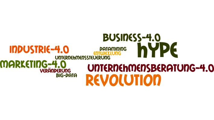 Industrie 4.0, Revolution, Hype,