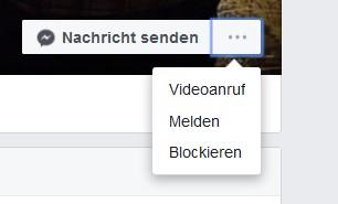 Facebook Profil blockieren