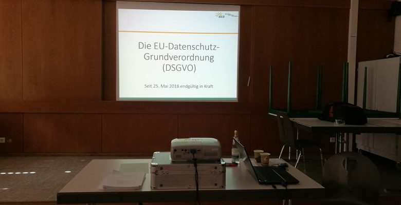 DSGVO Seminar / Erfahrungsbericht